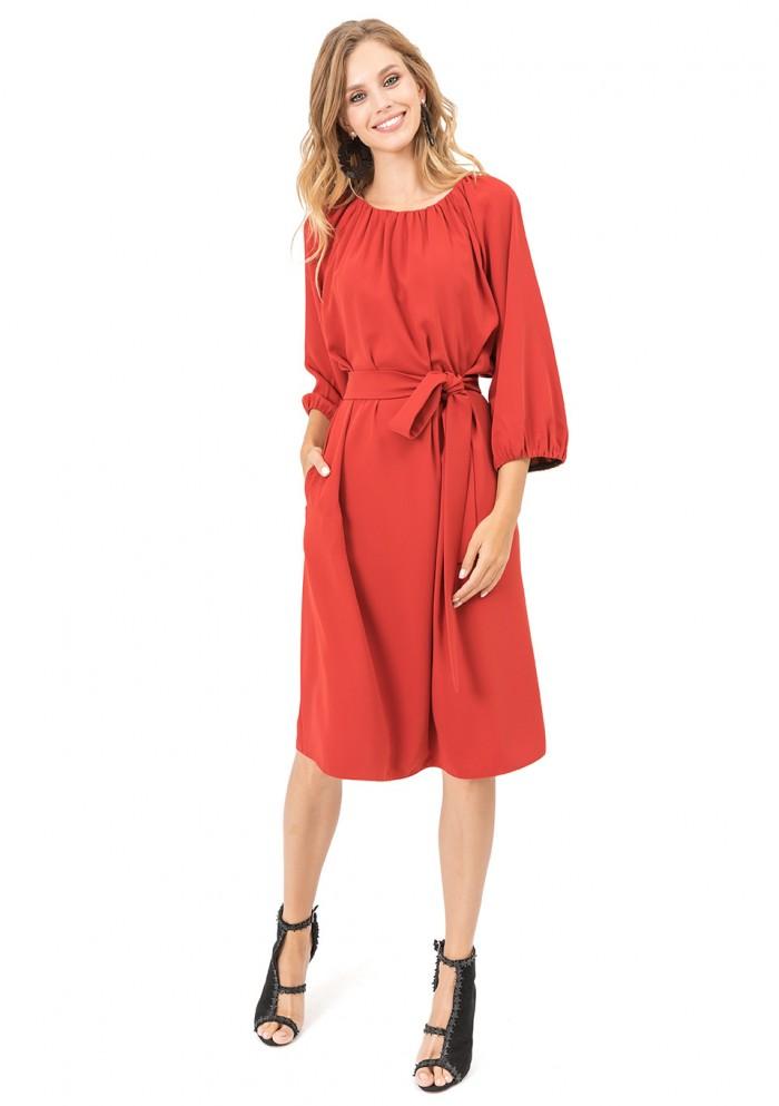 Платье женское с карманами М 7710