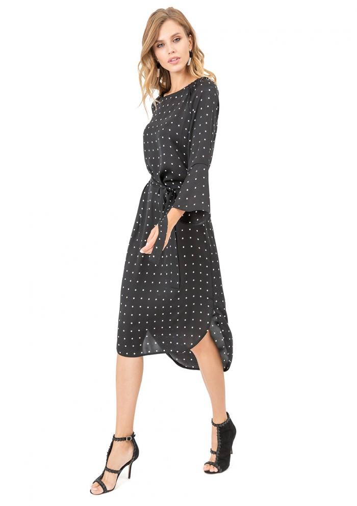 Платье женское с рисунком М 7519-2